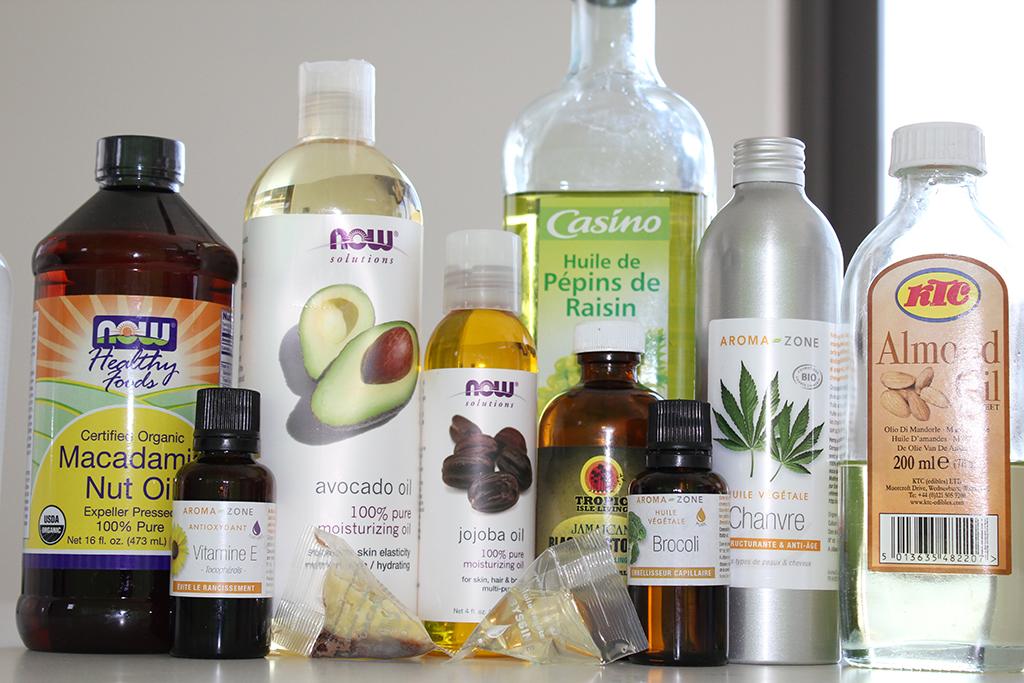 mon mix d 39 huiles pour sceller l 39 hydratation thegirlzlifemagazine. Black Bedroom Furniture Sets. Home Design Ideas