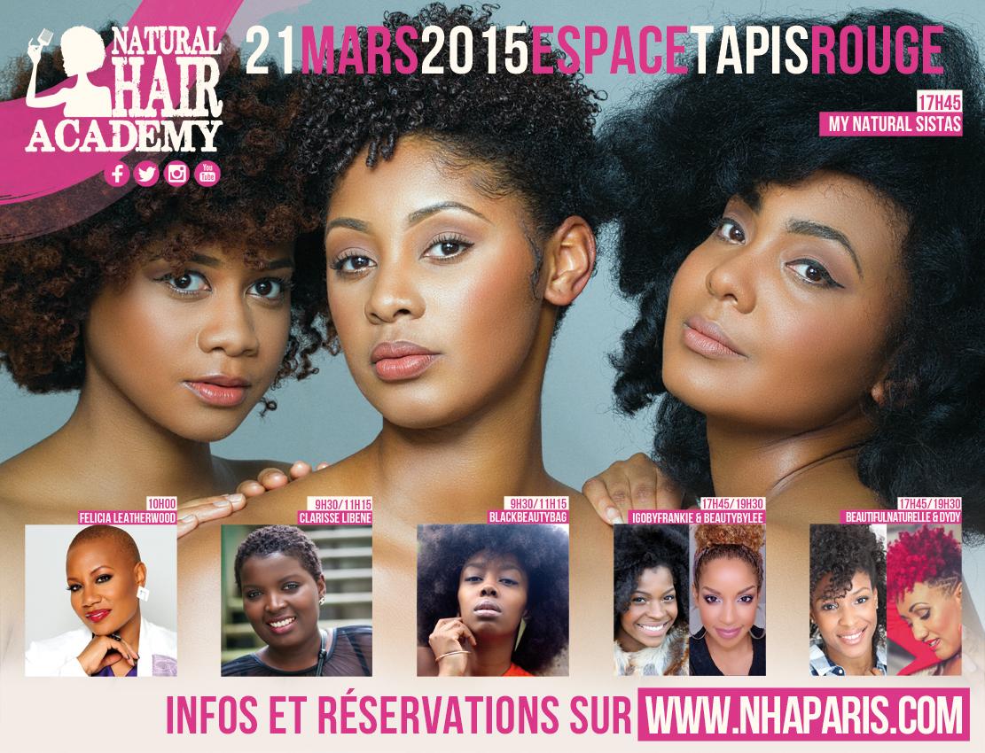 Natural Hair Academy 2015: Le rendez-vous pour célébrer le naturel – (Concours inside)