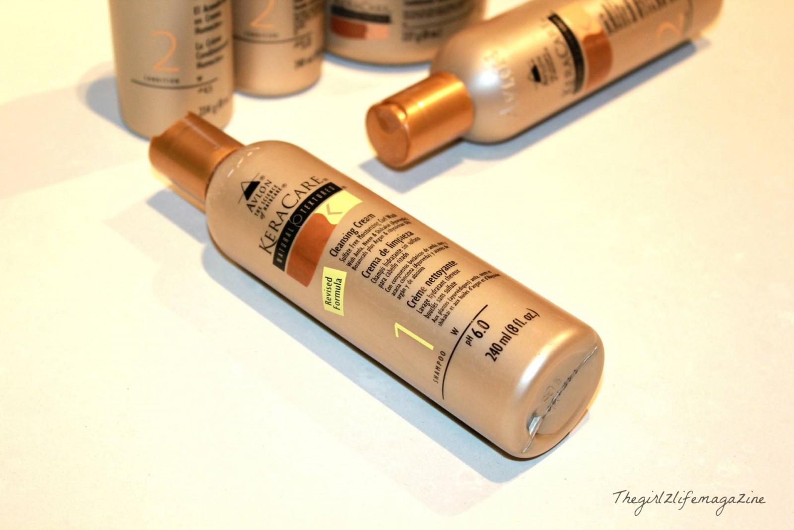 Keracare Natural Textures et sa Cleansing cream: mon indispensable capillaire du moment