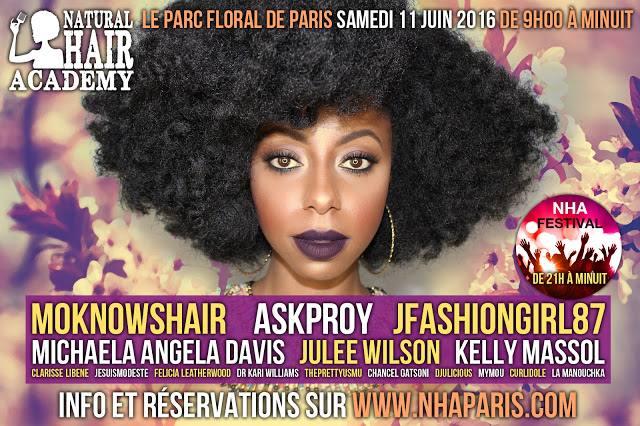 Natural Hair Academy 2016: 5 bonnes raisons d'y aller (concours inside)!!!