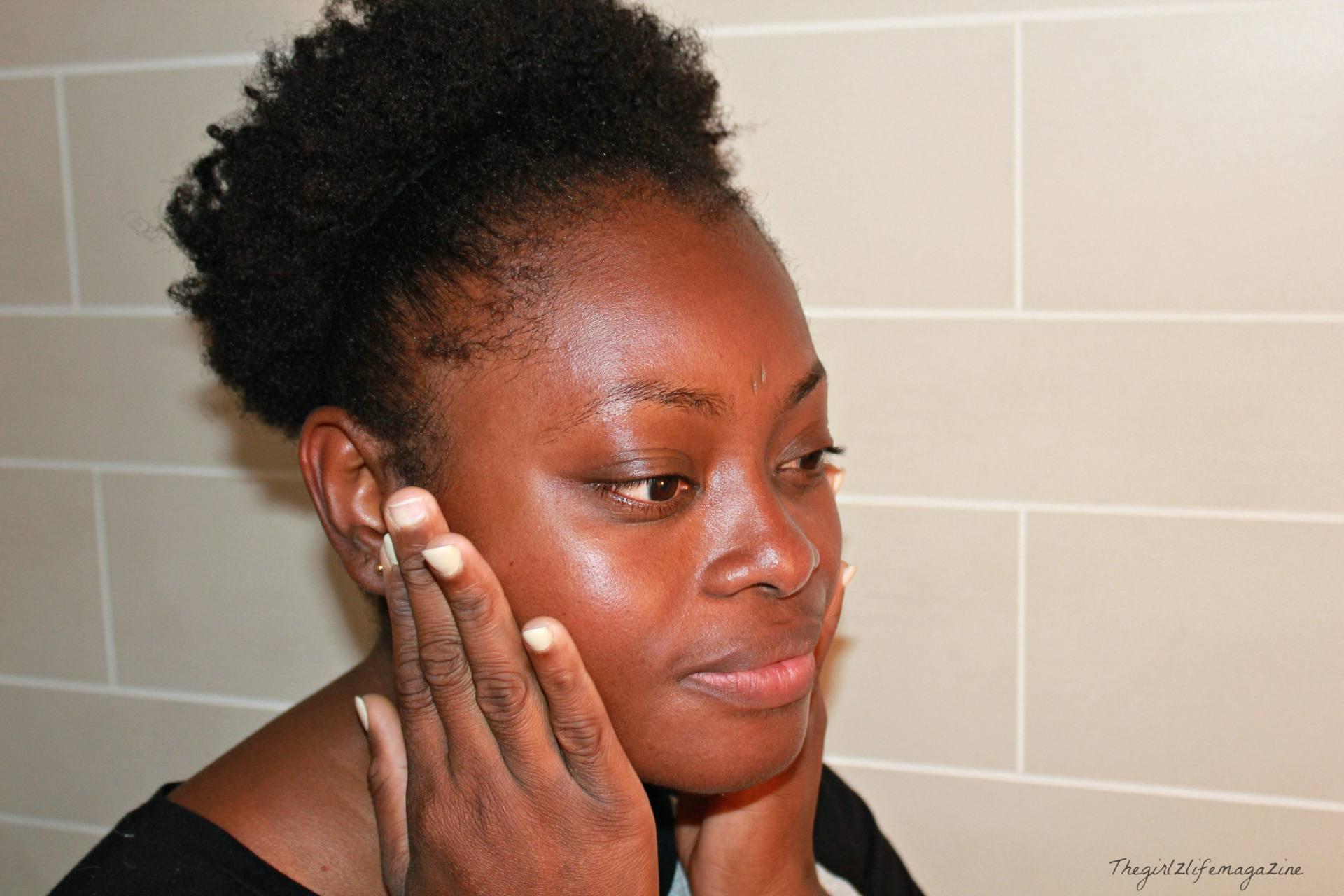 routine visage objectif clat de la peau pour l 39 t thegirlzlifemagazine. Black Bedroom Furniture Sets. Home Design Ideas