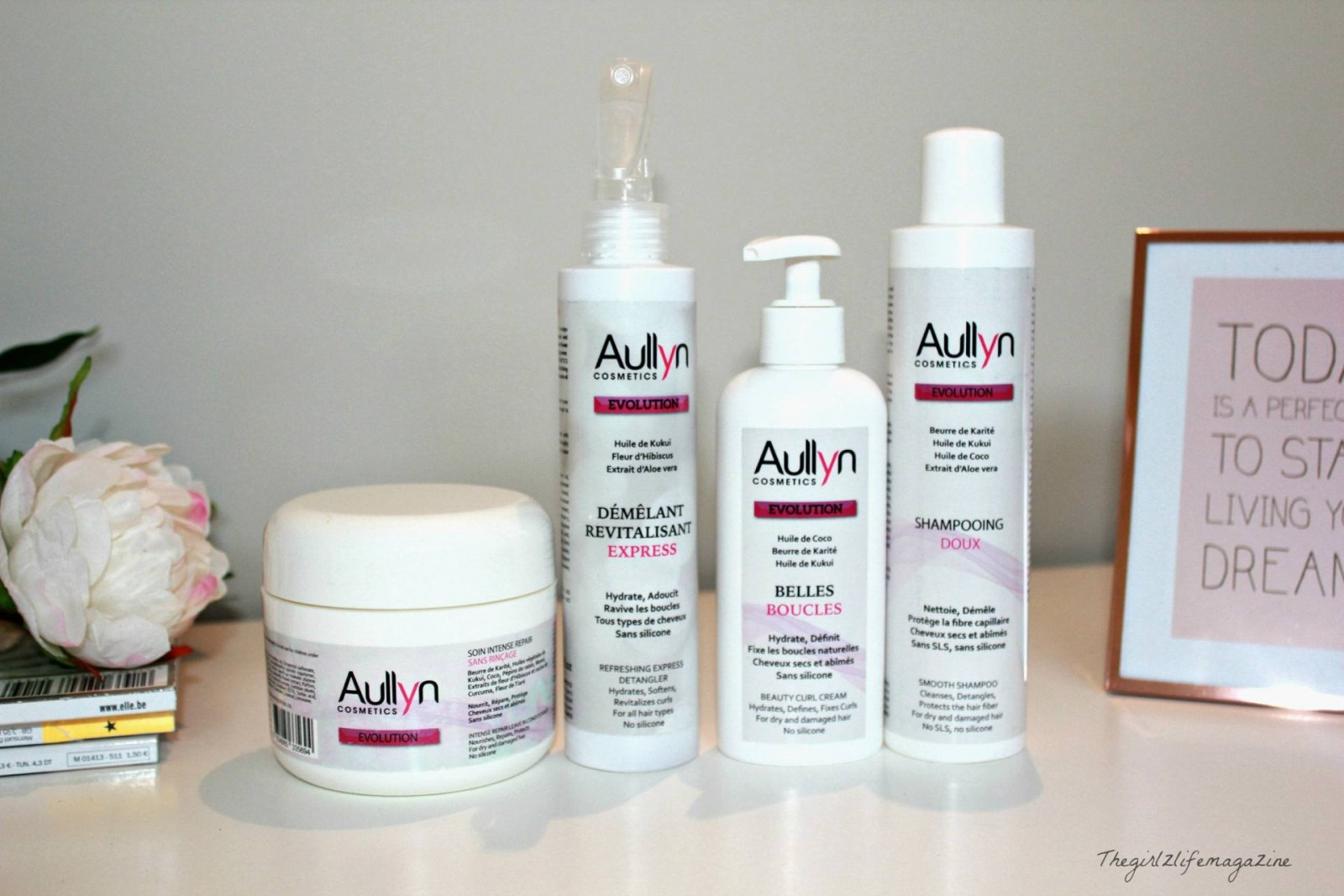 Aullyn Cosmetics: des soins capillaires naturels comme on les aime!
