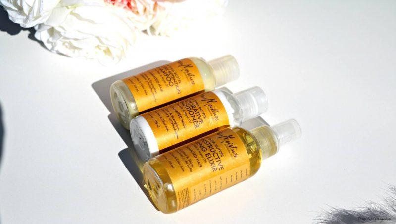 Shea moisture et son trio hydratant magique de la gamme Raw Shea Butter.
