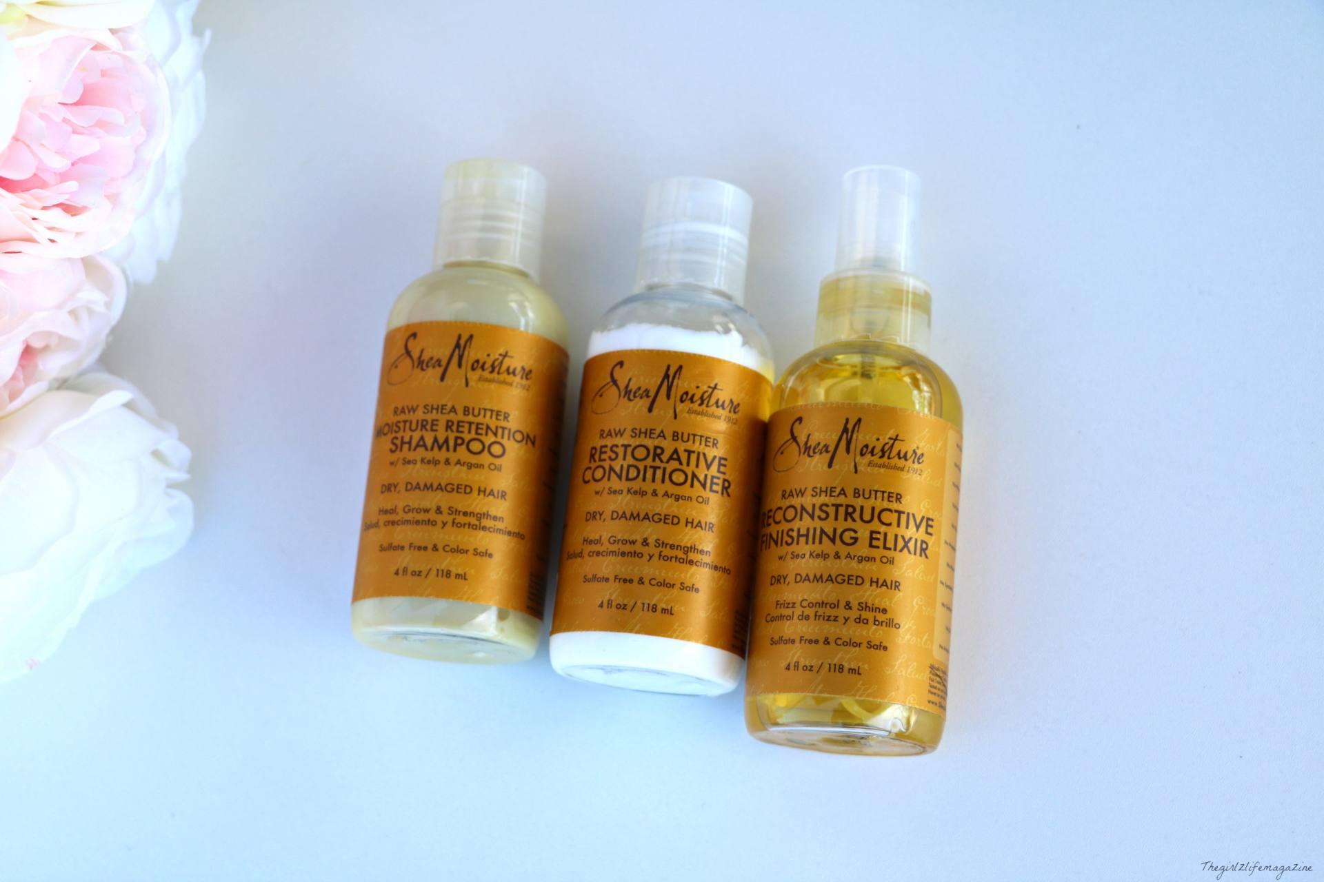 Shea moisture gamme jaune