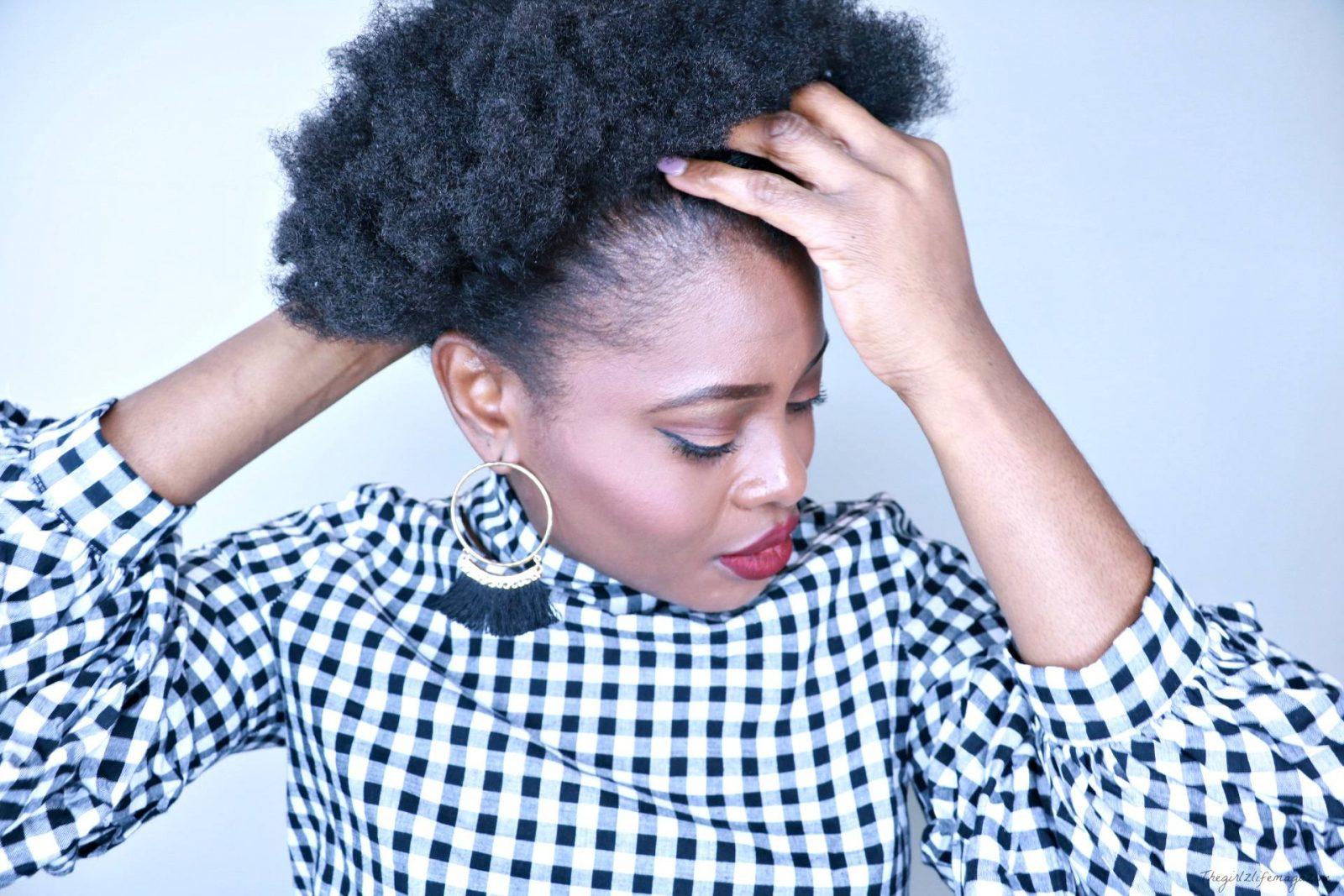 Hiver et cheveux crépus: les bons gestes!