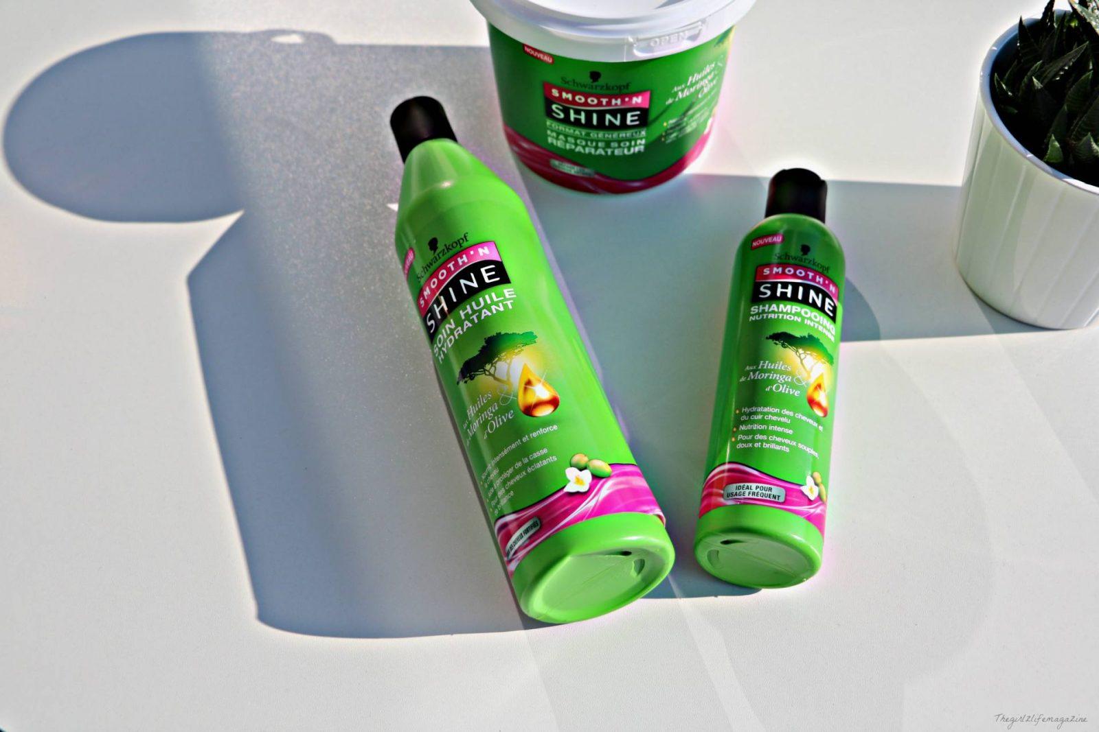 SMOOTH N' SHINE de Schwarzkopf : des produits de drugstore pour cheveux afros