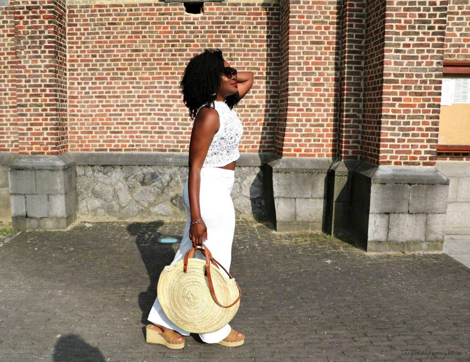 STRAW BAG: Panier en osier, Sac  de ville