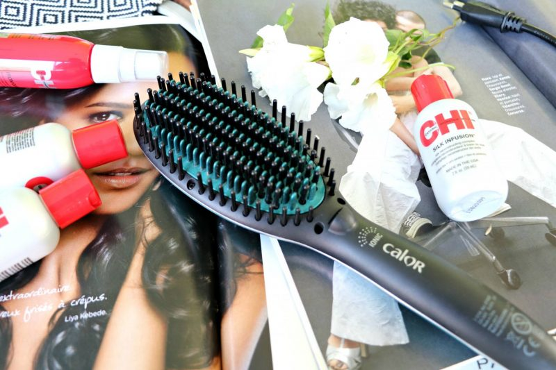 La Brosse lissante Power Straight de Calor